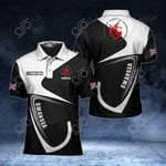 Customize Swansea Coat Of Arms All Over Print Polo Shirt