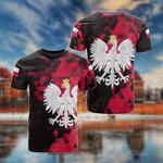 Customize Poland Polygon All Over Print T-shirt
