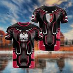 Poland 3D All Over Print T-shirt