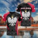 Poland Spirit All Over Print T-shirt