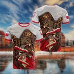 Poland Sword All Over Print T-shirt