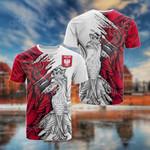 Polska Eagle 3D All Over Print T-shirt