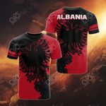 Albania Eagle All Over Print T-shirt