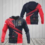 Austria Proud With Coat Of Arms All Over Print Hoodies