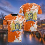 Nederland Polygon All Over Print T-shirt