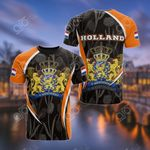 Netherlands Holland Spirit All Over Print T-shirt