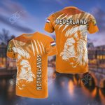 Netherlands Lion All Over Print T-shirt