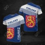 Finland Flag - My Heart Belong To Finland All Over Print T-shirt