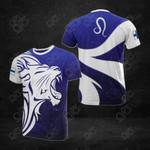 Finland Leo Zodiac All Over Print T-shirt