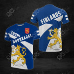 Finland Huuhkajat All Over Print T-shirt