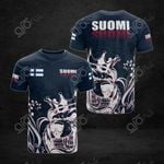 Suomi 3D All Over Print T-shirt