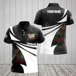 Customize Suriname Coat Of Arms New Style 3D Print All Over Print Polo Shirt