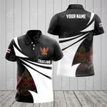 Customize Thailand Coat Of Arms New Style 3D Print All Over Print Polo Shirt