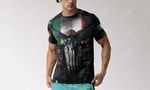 Mexico Coat Of Arms 3D Armor All Over Print T-shirt