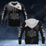 Latvia Coat Of Arms White - Flag All Over Print Hoodies