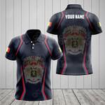 Customize Belgium Coat Of Arms Print 3D Special All Over Print Polo Shirt