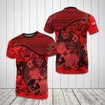 Tonga Coat Of Arms Red All Over Print T-shirt