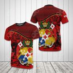 Tonga Coat Of Arms All Over Print T-shirt
