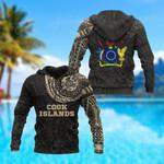 Cook Islands Polynesian Tattoo All Over Print Hoodies