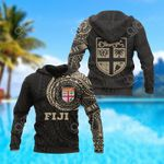 Fiji In My Heart Polynesian All Over Print Hoodies