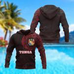 Tonga In My Heart Polynesian All Over Print Hoodies