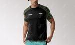 Customize Mexican Army Camo All Over Print T-shirt