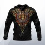 Aztec Mexico 3D All Over Print Hoodies