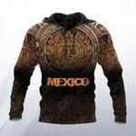 Mexico Aztec Calendar 3D All Over Print Hoodies