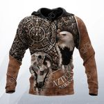 Azteca Mexicano 3D All Over Print Hoodies