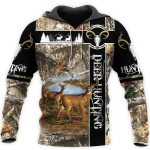 Deer Hunting Camo 3D All All Over Print Shirts