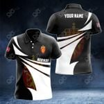 Customize Norway Coat Of Arms New Style 3D Print All Over Print Polo Shirt