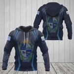 Uruguay Coat Of Arms Print 3D Special All Over Print Hoodies