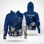 Scotland Alba Flag Special All Over Print Hoodies