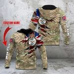 Custom Name British Armed Forces All Over Print Hoodies