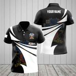 Customize Açores Coat Of Arms New Style 3D Print All Over Print Polo Shirt