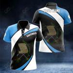 Customize Guatemala Proud Version All Over Print Polo Shirt