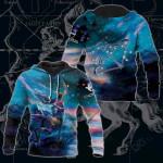 Sagittarius Galaxy 3D All Over Print Hoodies