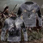 Sparta Warrior All Over Print Hoodies