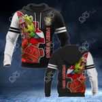 Puerto Rico's Frog 3D All Over Print Hoodies