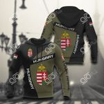 Custom Name Hungary Coat Of Arms Sport Style All Over Print Hoodies