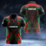 Custom Name Afghanistan New Style All Over Print Polo Shirt