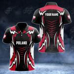 Custom Name Poland New Style All Over Print Polo Shirt