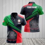 Customize Italian Proud With Coat Of Arms All Over Print Polo Shirt