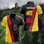 Customize Name in Venezuela's Coat Of Arms  All Over Print Polo Shirt