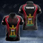 Custom Name Iraq Flag Special All Over Print Polo Shirt