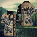 Custom Name Dragon Celtic All Over Print Polo Shirt