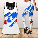 Ligerking™ Puerto Rico Tank top, Leggings 02857