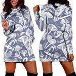 Forest Mushroom Hoodie Dress 3908