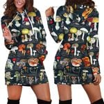 Fungi's Mushroom Hoodie Dress 3901
