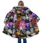 Beautiful Forest Mushroom Hooded Coat 3912
